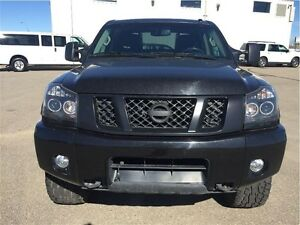 2014 Nissan Titan PRO-4X -Leather Crew-Lifted! Regina Regina Area image 3