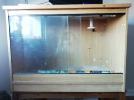 "Vivarium. Make an offer, I want this gone! 40"" long and 29"" deep. Fully equipped and ready to go"