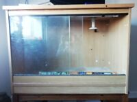 """Vivarium. Make an offer, I want this gone! 40"""" long and 29"""" deep. Fully equipped and ready to go"""