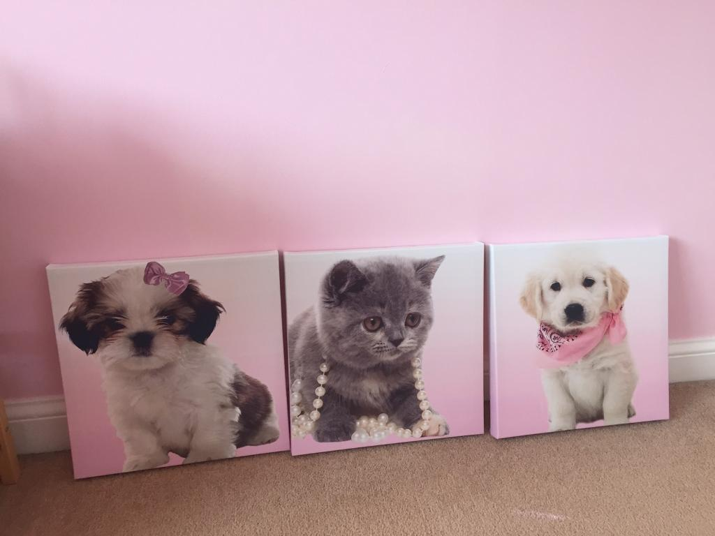 Kids canvas wall pictures