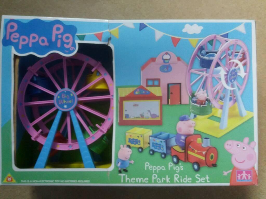 Toy: Peppa Pig Theme Park Ride Set