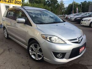 2009 Mazda MAZDA5 GT /LEATHER/ROOF/6PASS/LOADED/ALLOYS