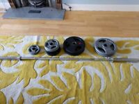 105kg Olympic weights set