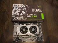 ASUS GEFORCE GTX 1060 6GB OC Edition VR Ready