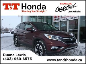 2015 Honda CR-V **C/S**Touring *No Accidents, One Owner, Locally