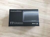 *BRAND NEW* Bowers & Wilkins T7 Wireless Speakers - Silver