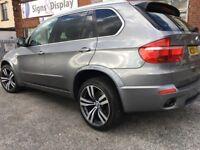 BMW X5 3.0d M Sport XDrive 2010 GREY. 4x4 WELCOME PX