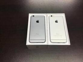 iPhone 6 unlocked good condition with warranty