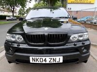 BMW X5 4.8 is S 5dr 2004 (04 reg), SUV, BLACK ON BLACK, AUTOMATIC, SAT NAV + TV + FSH, FULLY LOADED