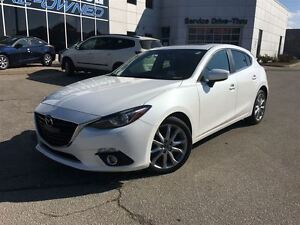 2015 Mazda MAZDA3 SPORT GT NAVI  SUNROOF BOSE LEATHER
