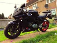 Hyosung gt650r **Low mileage**New battery**