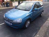 Vauxhall corsa 2001 cheap £365ono full mot