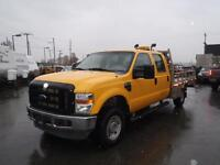 2008 Ford F-350 Sd XL Crew Cab Long Bed 4WD 10ft Flatdeck