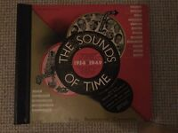 The sounds of time - 5 double sided vinyl records of original recordings of events 1934 -1949