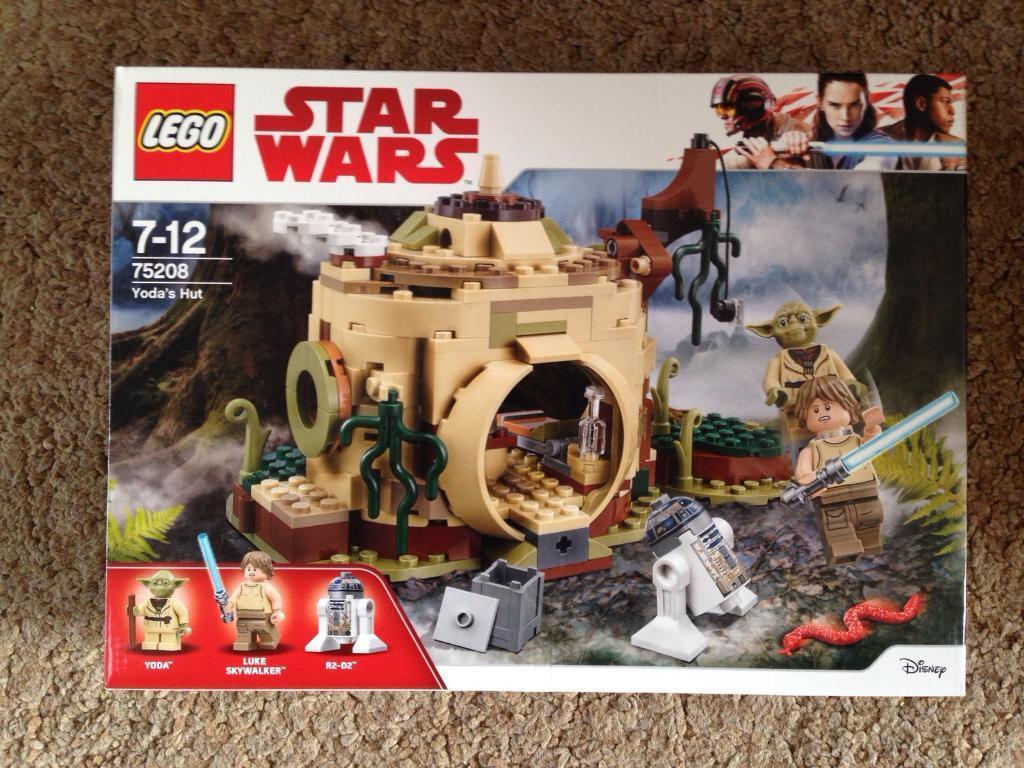 Lego Star Wars 75208 Yoda/'s Hut ~NEW /& Unopened~