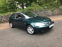 Honda Civic 1.4 se Automatic ** Only 69,000 Miles - 12 Months Mot - Clean Example **