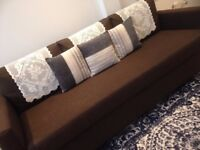 IKEA Sofa bed - IKEA Friheten 3 seater sofa bed for sale, almost new, brown color