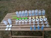Dr Brown's 9 Bottles used