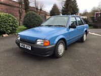 1989 Ford Escort 1.4 GL, 21,000 miles, 1 Former Keeper