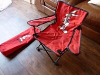 KIDS FOLDING BUGS BUNNY CHAIR - USA OFFICIAL WARNER BROTHERS LOONY TUNES
