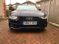 Audi A4 2.0 TDI 177 BLACK EDITION S LINE 1 Owner Full Service History Part Exc & Offer Welcome