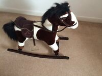 Mint condition rocking horse
