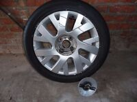 Spare Alloy Wheel and Tyre from Citroen C4 Picasso