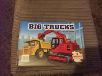 Truck Puzzle Book brand new