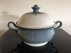 Vintage Denby Castile design Assorted Pottery