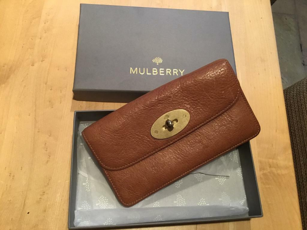 b9db76b890 MULBERRY DARLEY WALLET ( Oak Natural Grain Leather) NEW... Product Code  RL4612-346G110