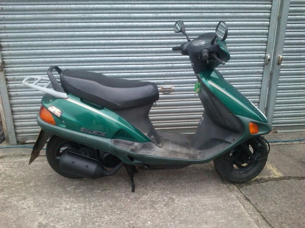 1998 honda bali ex100 scooter 100cc full 12 month mot. Black Bedroom Furniture Sets. Home Design Ideas