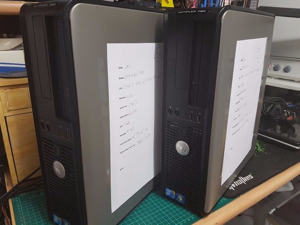 Dell Tower - Dual Core - Windows 10 - Office