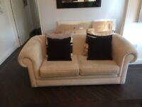 Two seater settee x 2