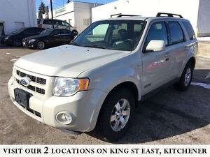 2008 Ford Escape Limited | 3.0L V6 | LEATHER | 4WD | NO ACCIDENT
