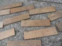 PERIOD OAK BLOCK FLOORING, used for sale  Whitchurch, Cardiff