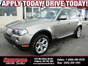 2010 BMW X3 xDrive30i AWD/H.SEATS/LEATHER/PANOROOF