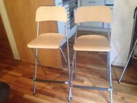3 IKEA BAR STOOLS