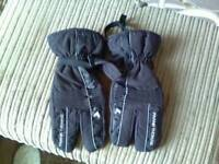 Frank thomas three fingers motor bike gloves xxl