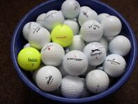70 golf balls