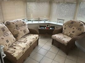 Conservatory Furniture in excellent condition