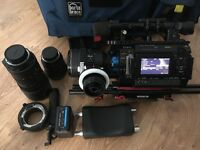 Sony PMW-F3 Camera Kit with x3 Nikon Zoom lens, Zacuto Baseplate , FF-3 Follow Focus plus more