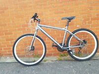 Carrera Subway Mountain Hybride Bike Bicycle 18 inch frame -(New cables fitted)