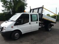 This a nice clean crew cab tipper just been serviced ideal to keep tools safe in the back
