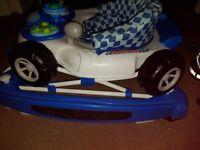 baby car walker height adjustable