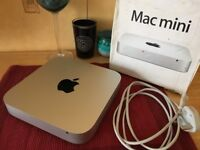 Apple Mac mini 2012 4GB RAM 500GB disk which I can customise to Samsung Evo 850 SSD and 10GB RAM