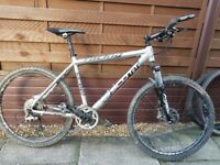 Silver Scott Racing Mountain Bike Medium 18'' frame