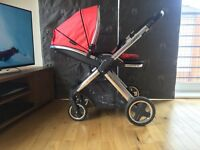 BABYSTYLE OYSTER 2 PUSHCHAIR/PRAM WITH COLOUR PACK EXCELLENT CONDITION OVER 60% OFF RRP!!!