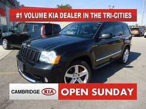 2010 Jeep Grand Cherokee SRT8 / NAV / LEATHER / ROOF