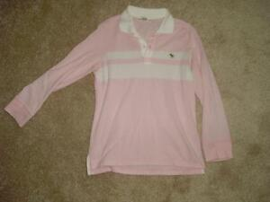 Girls/teen Abercrombie Rugby-Style Shirt, sz M London Ontario image 1