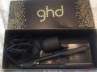 ghd hair straighteners, gold series, wide plate.